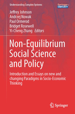 Cover of the book Non-Equilibrium Social Science and Policy